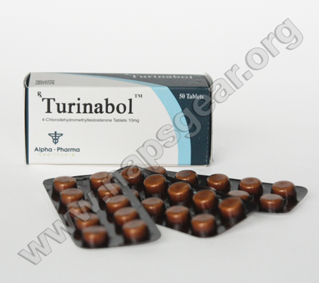 Turinabol - 4 packs(50 tabs (10mg/tab))