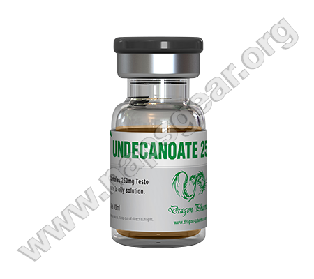 Undecanoate - 10 vials(10ml (250 mg/ml))